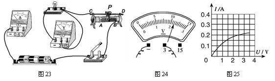"""(09福州)(8分)在测定""""小灯泡电功率""""的实验中"""