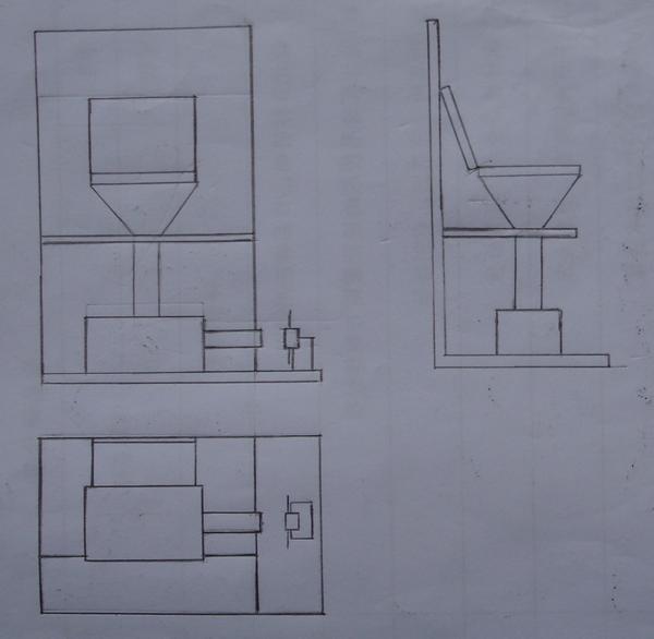 马桶侧面图尺寸图