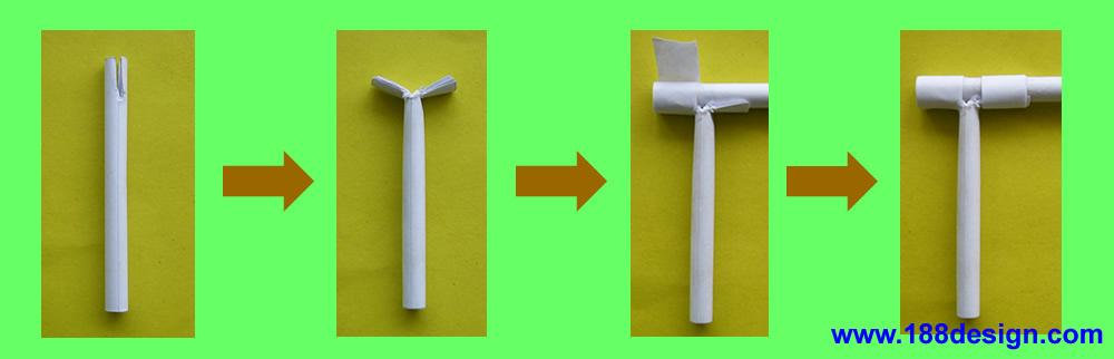 制作步骤:     1,画出比例为1:1的平面设计图纸