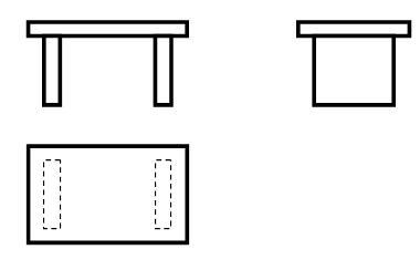 (1)请从结构的稳固性的角度去分析这张小板凳设计时存在的缺陷.图片