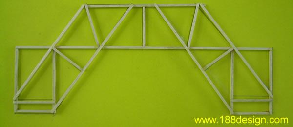 设计图   直木桥3d模型; 木桥承重比赛设计图图片分享;   木