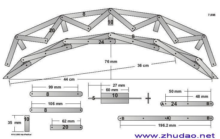 桥梁设计图原图展示
